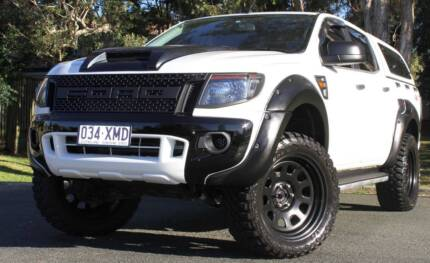 2012 Ford Ranger Ute turbo diesel 3.2 4X4 REGO AND RWC
