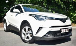2017 Toyota C-HR NGX50R S-CVT AWD White 7 Speed Constant Variable Wagon