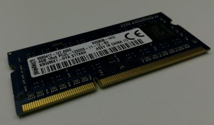 4Gb DDR3 Laptop/Notebook/Ultrabook Memory