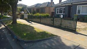 Picket fence steel with gates Thornbury Darebin Area Preview