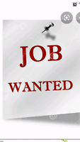 Driving / Delivery Job Wanted