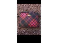 Vivienne Westwood derby tartan leather iPad case