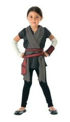Star Wars Girl Character - Rey Costume - Ray - Top with Sash, Belt and Sleeves](Girl Star Wars Characters)