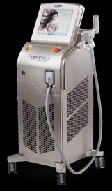 Alma Soprano ICE diode Laser system.