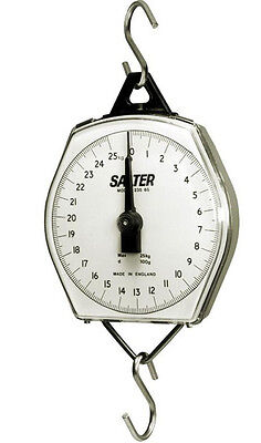 Salter Brecknell 235-6s Dial Mechanical Hanging Scale 110lb X 8 Oz 50 Kg