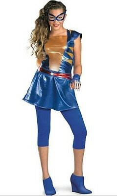 NEW Marvel X-Men Wild Thing Daughter of Wolverine Girls Costume Sz M L XL - X Men Girl Kostüm