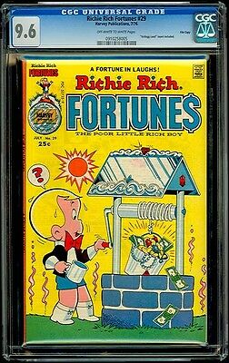 Richie Rich Fortunes  29 Harvey Cgc 9 6 Jul 76   Wishing Well