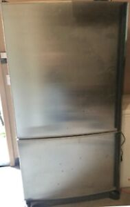 Nice Stainless Steel Fridge with Ice Maker; FREE DELIVERY