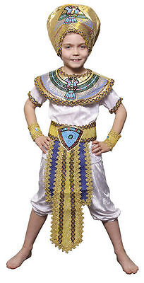 Kinder Antike Ägyptisch Büchertag Kostüm Prty Outfit Jungen Verkleidung ()