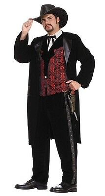 Gun Slinger Gunslinger Western Cowboy Outlaw Fancy Dress Halloween Adult Costume