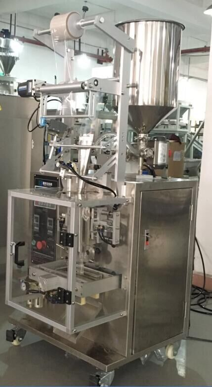 Salad Dressing/Sauce Four-side Seal Touch Screen Packing Machine with Notch