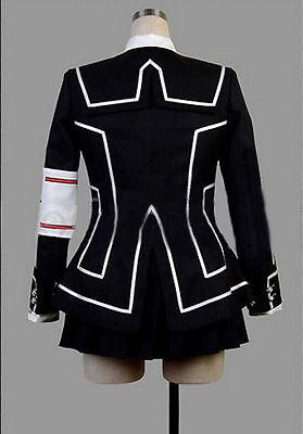 Hot Vampire Knight Cosplay Costume New Yuki Cross White or Black Womens Dress Sz - Hot Vampire Woman