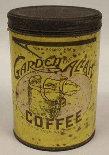 Garden of Allah Coffee Can, Vintage, 1 LB
