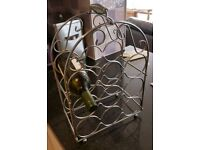 Wine rack - 9 bottle