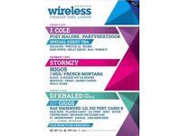 Wireless Tickets 2018 - FRIDAY, SATURDAY, & SUNDAY