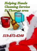 Helping Hands Cleaning Service..St Thomas area