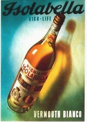 Original vintage poster JSOLABELLA  VERMOUTH APERITIF (Vermouth Aperitif)