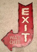 Vintage Texaco Metal Sign