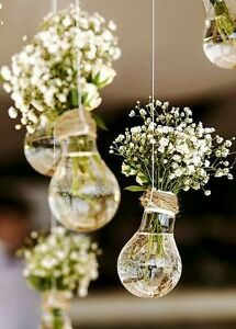 Light Bulb Flower Vase