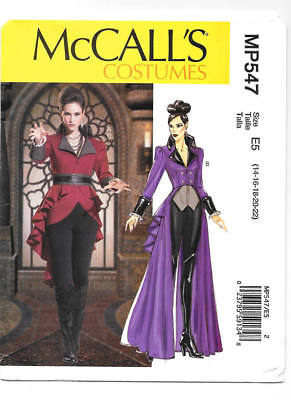 McCALL'S M7641 Misses OUaT Evil Queen or Fantasy Cosplay Costume Sewing - Evil Queen Ouat