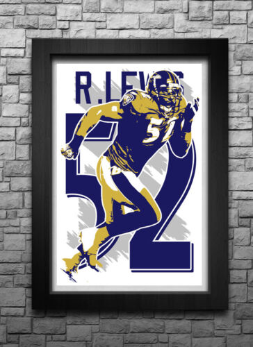 ZA922 Ray Lewis America Football Sports Poster Hot 40x27 36x24 18inch