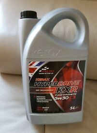 KERAX HYPERDRIVE 5W30  FULLY SYNTHETIC ENGINE OIL 5 LTR