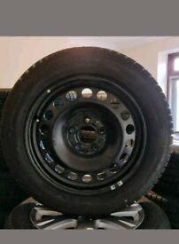 4 - Brand new Dunlop tyres 205 / 55 / 16 Winter Tyres