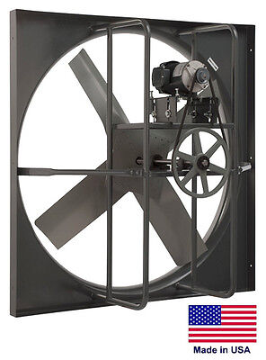 Exhaust Panel Fan - Industrial - 48 - 5 Hp - 208-230460v - 3 Ph - 33160 Cfm