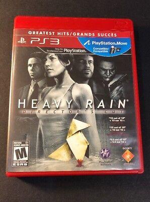 Heavy Rain [ Director's Cut ] (PS3) USED, usado segunda mano  Embacar hacia Argentina