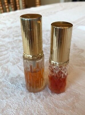 Vintage Perfume Bottle Lot Of 2 Unknown - Made In Japan