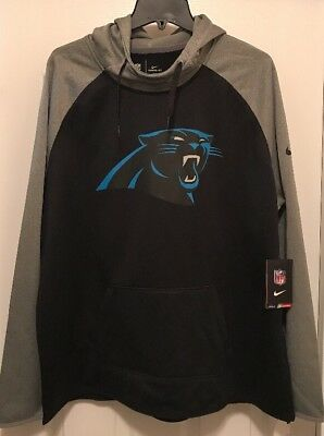 Womens Carolina Panthers Nike Raglan Pullover Performance Hoodie 2XL XXL NWT $75 2 Womens Raglan Hoodie