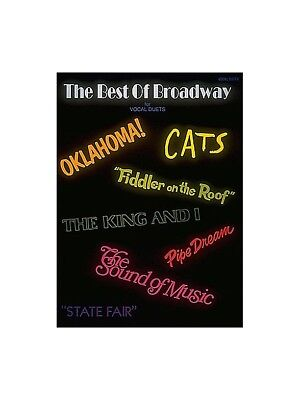 Best of Broadway Vocal Duets Learn to Sing Present Voice SHEET MUSIC
