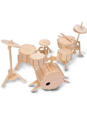 Woodcraft Construction Kit - Drums