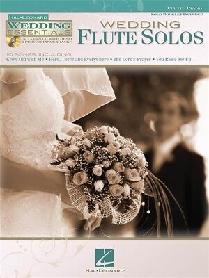 Wedding Essentials Play Gabriel's Oboe Marriage Flute Solos MUSIC BOOK & CD Gabriels Oboe Flute