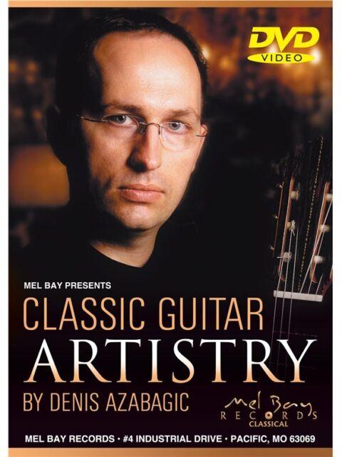 Denis Azabagic Classical Guitar Artistry DVD MUSIC DVD Guitar Classical Guitar