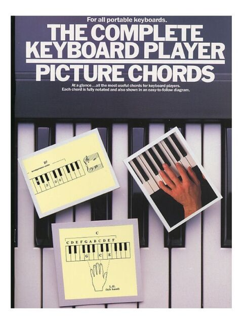Learn to Play The Complete Keyboard Player Picture Chords POP songs MUSIC BOOK