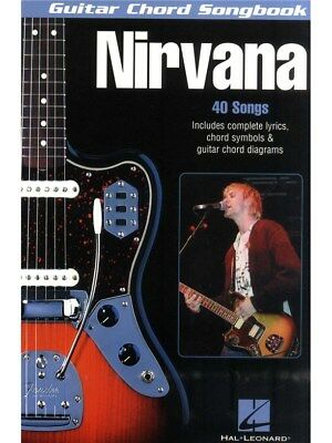 - Guitar Chord Songbook Nirvana Play About a Girl Chart POP Hits Songs MUSIC BOOK
