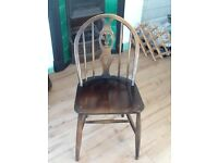 Six Antique Ercol Chairs
