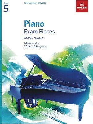 ABRSM Piano Exam Pieces Book Only 2019 - 2020, Grade 5