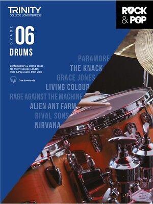 Trinity College Rock & Pop 2018 Drums Grade 6