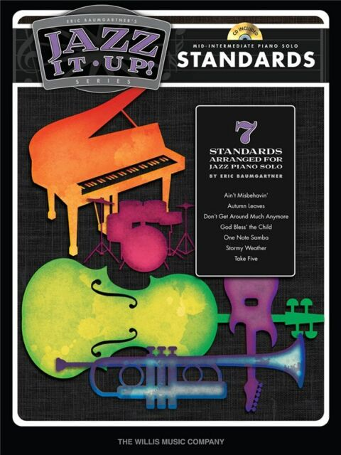 Jazz It Up Standards Learn to Play Songs Tunes Hits Piano Keyboard MUSIC BOOK