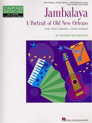 Eugénie Rocherolle Jambalaya - A Portrait Of Old New Orleans PIANO MUSIC BOOK Jambalaya Music Book