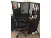 URGENT: IKEA corner desk workstation and chair