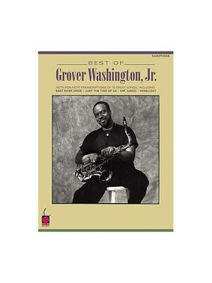Best of Grover Washington Jr Saxophone Play Instrumental Work SHEET MUSIC