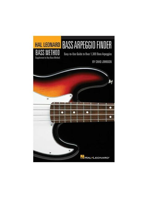 Bass Method Arpeggio Finder Small Format Learn to Play Bass Guitar MUSIC BOOK