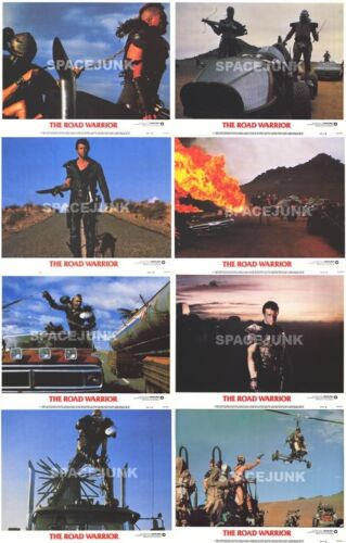 MAD MAX 2: THE ROAD WARRIOR (1981) U.S. Lobby Cards Set of 8 LIMITED OFFER!!