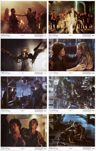 ALIENS (1986) U.S. Lobby Cards Complete Set of 8 (8 x 10 Inches) LIMITED OFFER!!