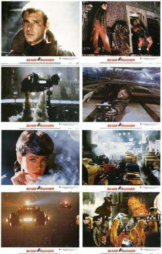 BLADE RUNNER Lobby Cards (1982) Complete Set of 8