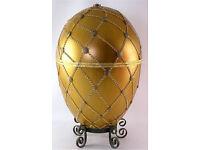 Faberge egg golden