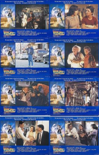 BACK TO THE FUTURE (1985) U.S. Lobby Cards Set of 8